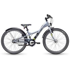 s'cool XXlite 24 7-S - Vélo enfant - alloy gris